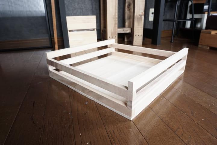セリア 木材 DIY5