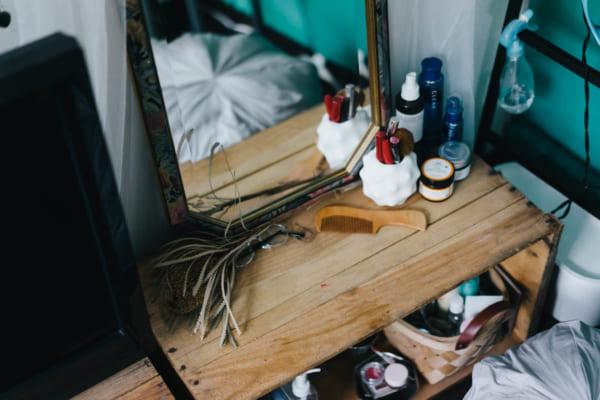 ベッドルーム収納4