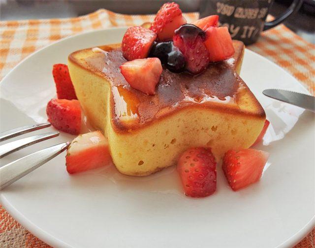 極厚&ふわふわなパンケーキをレッツ・クッキング♪6