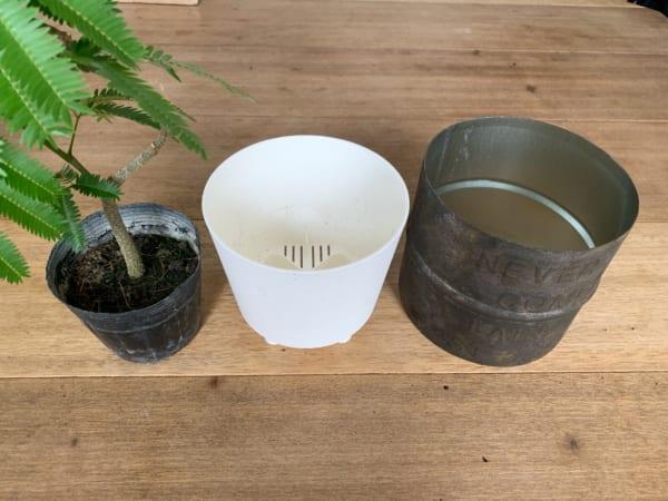 鉢カバー DIY10