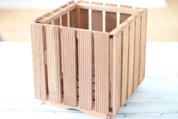 100均セリアで作る簡単鉢カバー2