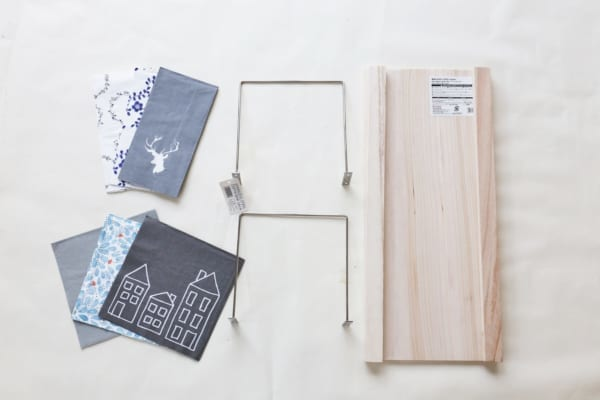 トレイ&サイドテーブル 材料