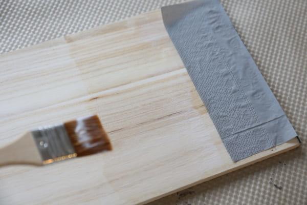 トレイ&サイドテーブル 作り方6