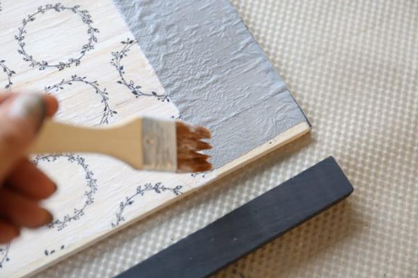 トレイ&サイドテーブル 作り方7