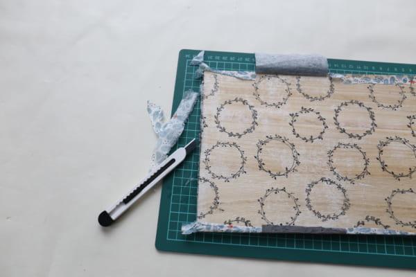 トレイ&サイドテーブル 作り方9