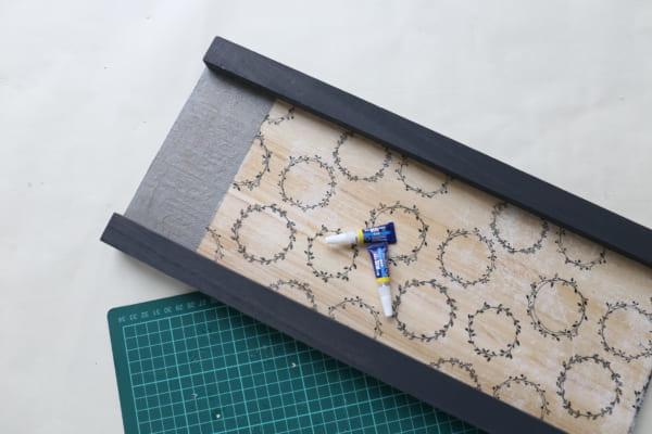 トレイ&サイドテーブル 作り方10