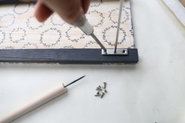 トレイ&サイドテーブル 作り方11