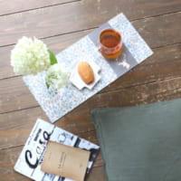 【連載】季節問わず使える!デコパージュで作るサイドテーブル&トレイ