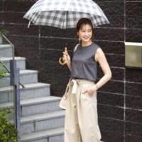 雨の日もおしゃれに決まる!【ユニクロ】のアイテムで梅雨対策コーデ☆