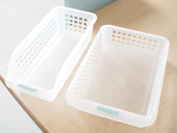 冷蔵室の整理に便利!重なる仕切りケース2