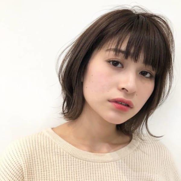 ベース型に似合う髪型5