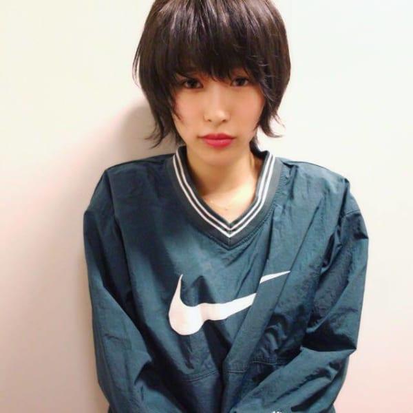 ハンサムショート×黒髪10