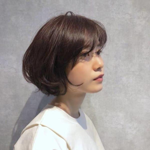 卵型に似合う髪型3