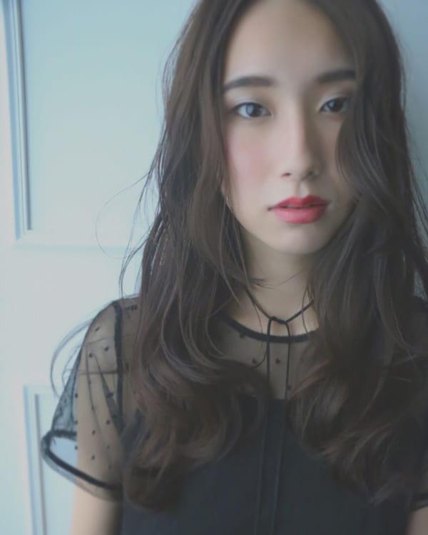 面長に似合う髪型11