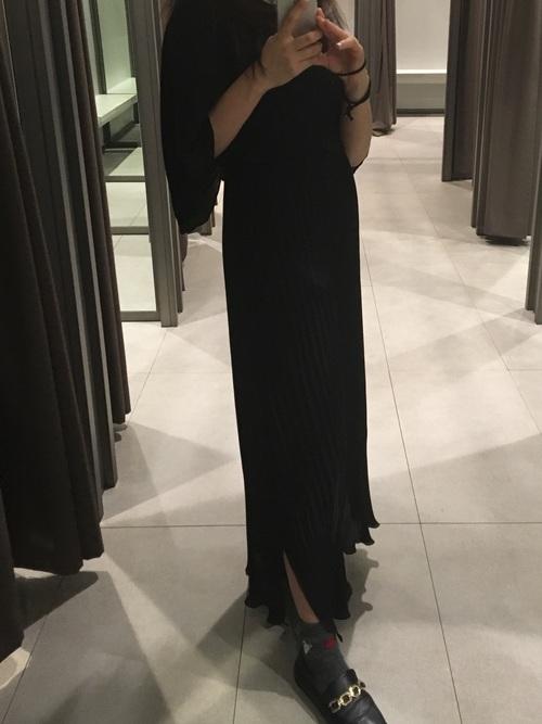 ZARA ロングドレス