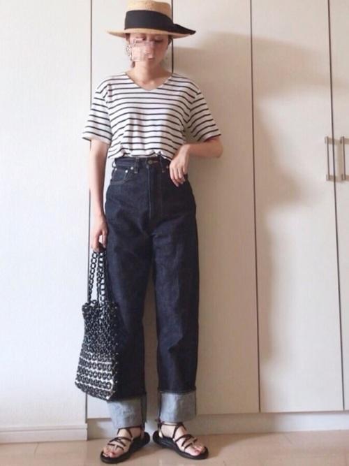 フレンチカジュアル パンツ