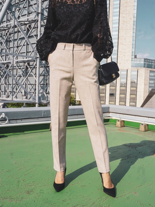 [My shawty] slim tuck pants
