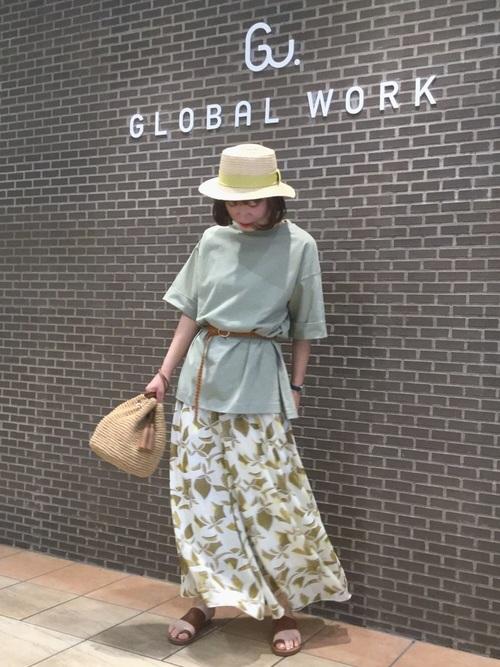 [GLOBAL WORK] USAチュニックT【UVケア】/817520