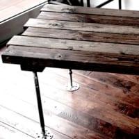 2×4材でセンターテーブルDIY