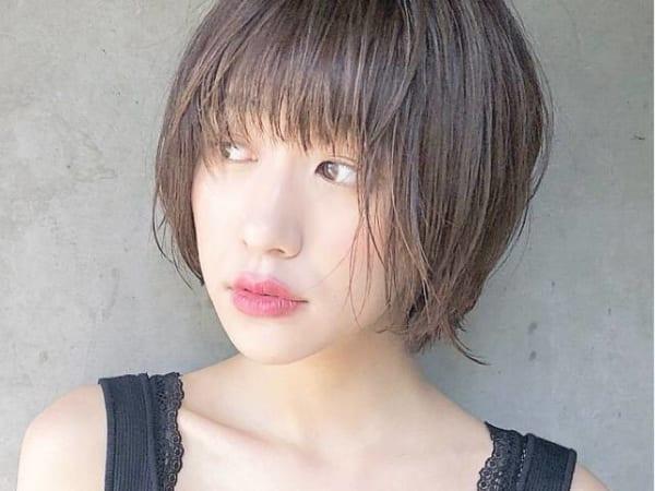 面長に似合う髪型3