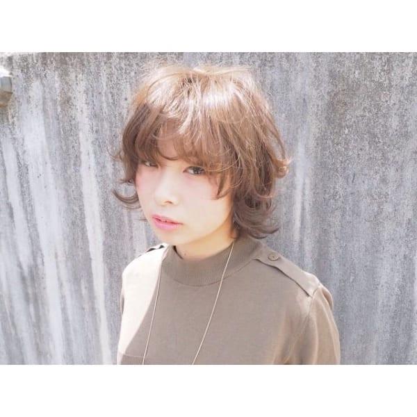 ベース型に似合う髪型4