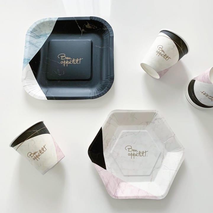 ダイソー 紙皿・紙コップ