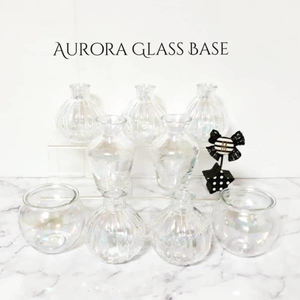 【セリア】七色の変化が美しくてゴージャスなオーロラガラス