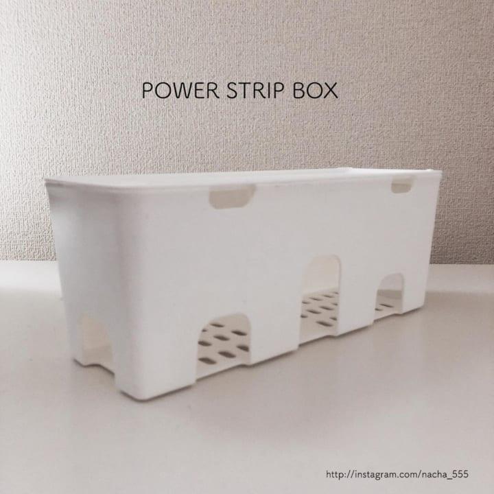 キャン★ドゥのケーブル収納ボックス