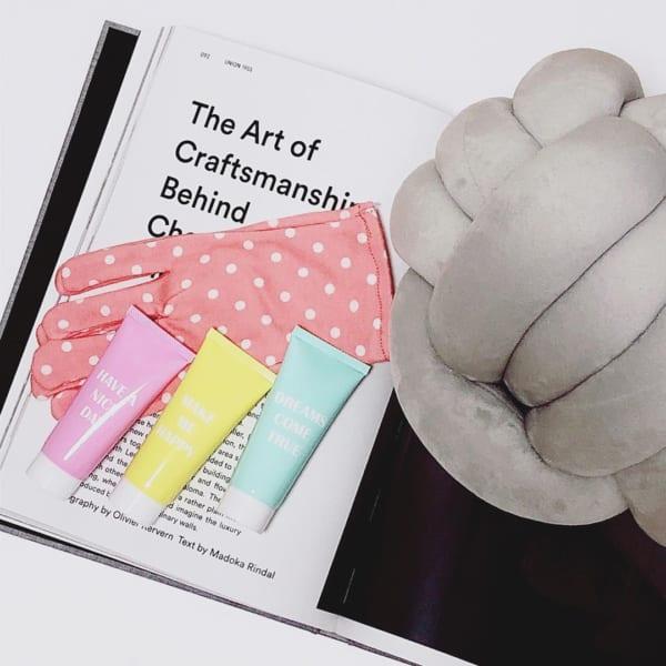 ナイトパック手袋&アロマハンドクリーム