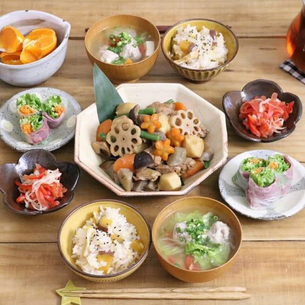 秋 煮物 レシピ5