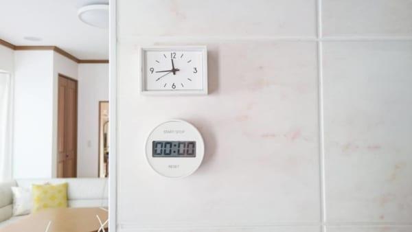 【無印良品】ミニ時計&キッチンタイマー