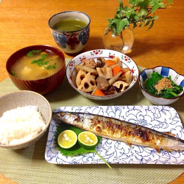 秋 旬 秋刀魚 ご飯 レシピ