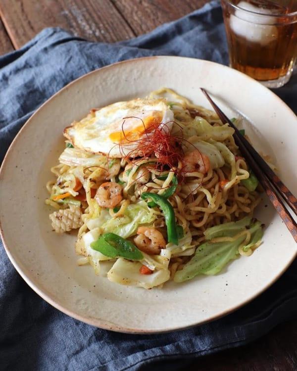中華 献立 麺物3