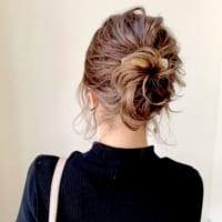 低めお団子で大人っぽい雰囲気をGET♡ラフにまとめるモテ髪スタイル特集