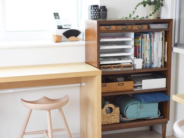 子供にもわかりやすい「収納スペース」を設ける