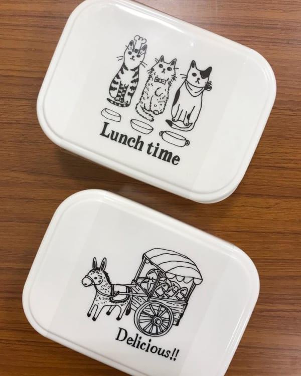猫ちゃんのランチボックスでお弁当づくりもハッピー☆