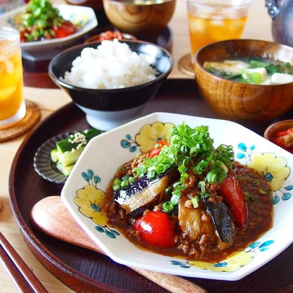 秋野菜《茄子》を使ったレシピ3
