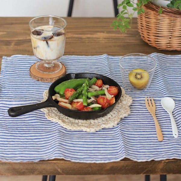 調理してそのまま、熱々をテーブルへ2