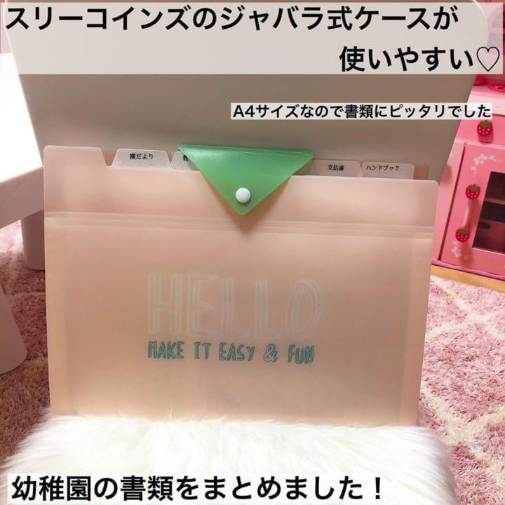 INDEX POCKET FILE【3COINS】