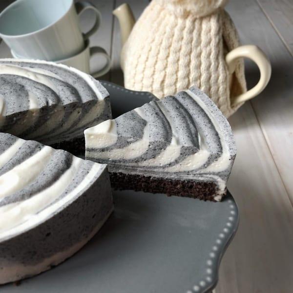 ゼブラレアチーズケーキ