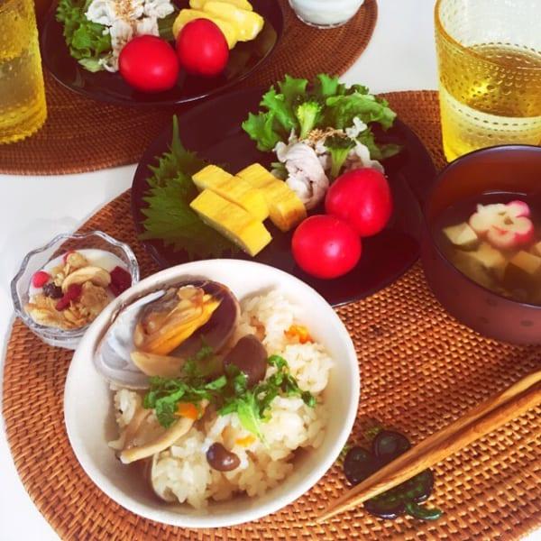 あさりの炊き込みご飯2