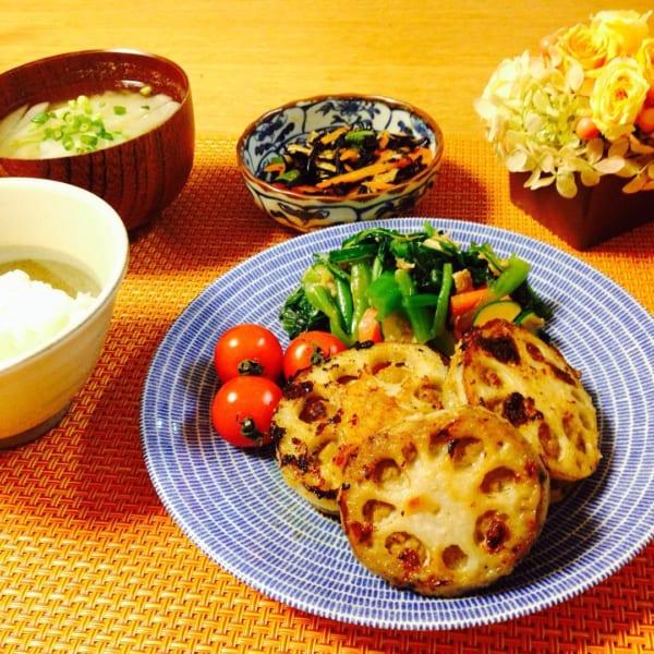 秋野菜《レンコン》を使ったレシピ3