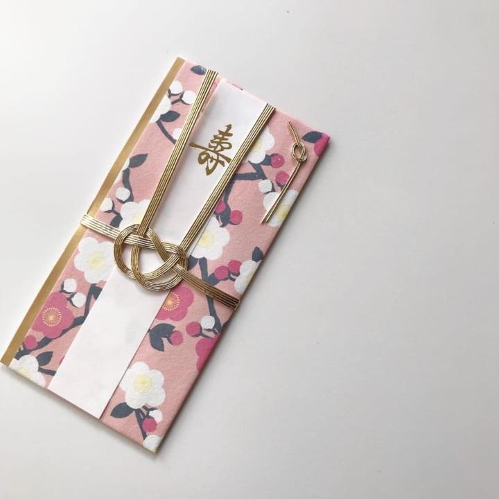 花柄モチーフのご祝儀袋