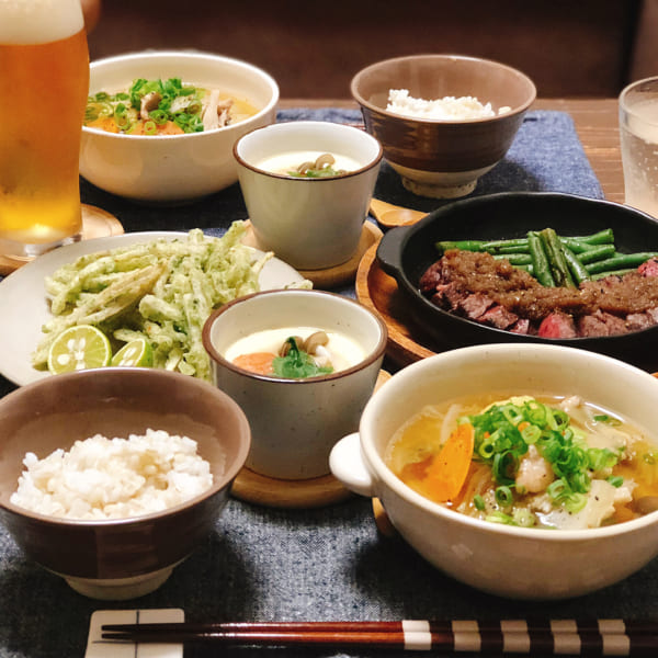 鶏肉と白菜ときのこのスープ煮