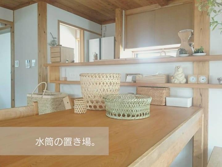 勢司恵美さんの竹籠