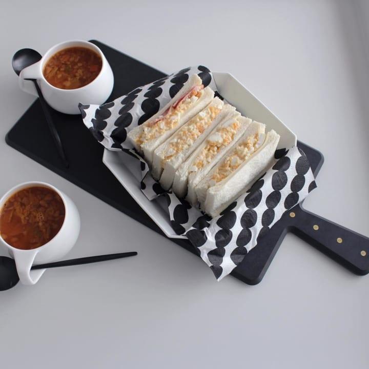 セリアの北欧テイストのペーパーナプキン