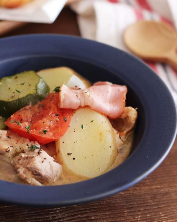 野菜たっぷりのスープ2