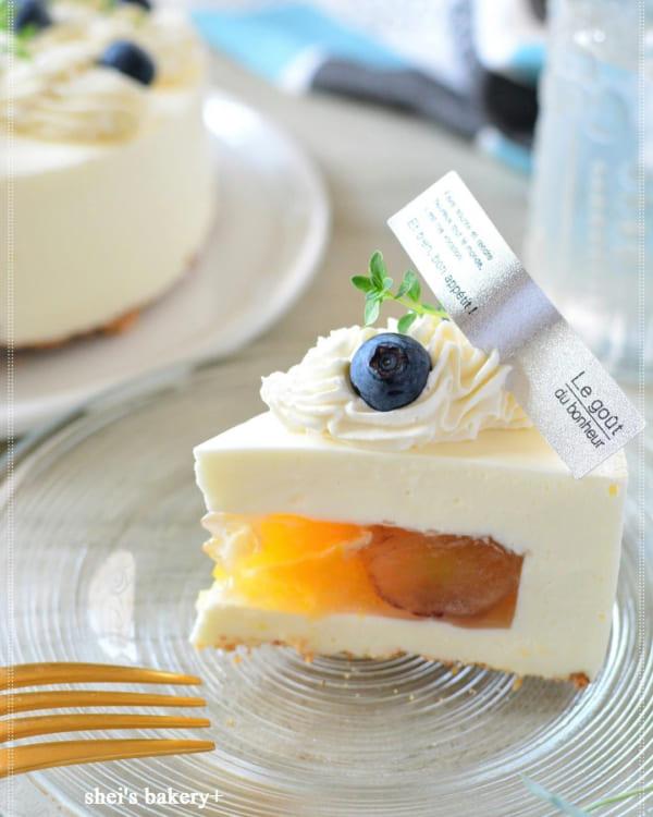 サプライズチーズケーキ
