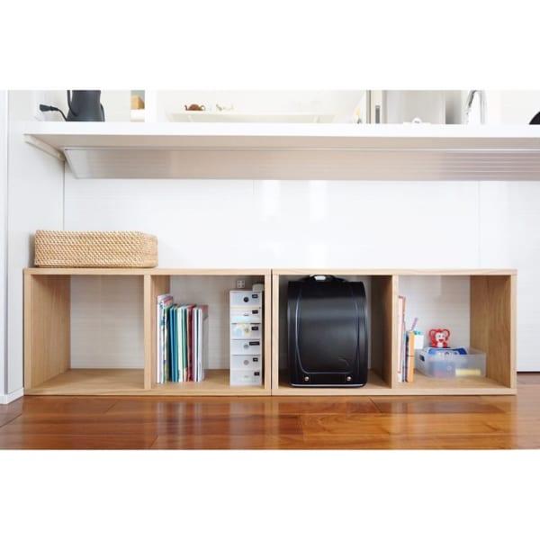 子供にもわかりやすい「収納スペース」を設ける4