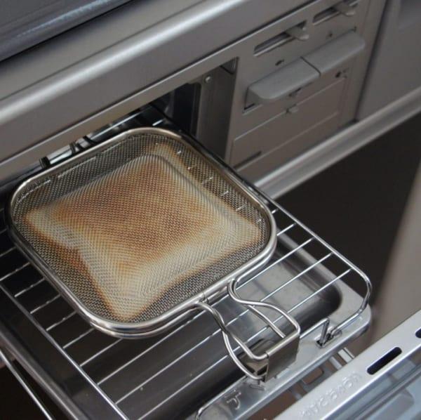 グリルがあれば美味しいパンが食べられる